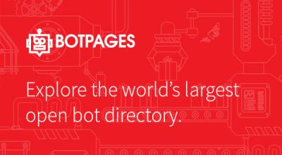 BotPages: un directorio con más de 5000 bots